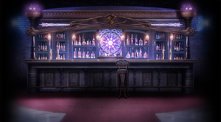 Death parade art