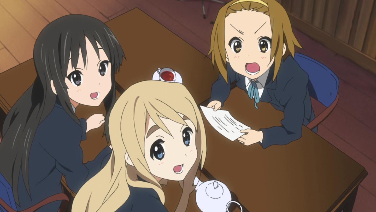 k-on table