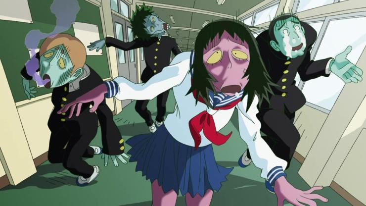 mob psycho ep2 zombie