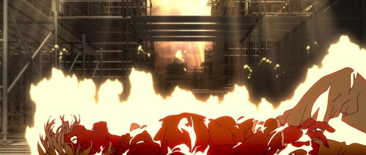 kizumonogatari araragi burning.jpg
