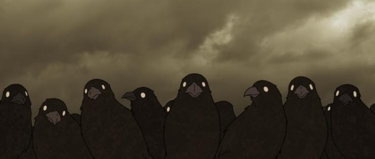 kizumonogatari crows.jpg