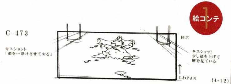 Kizu kisshot storyboard