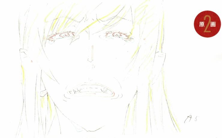Kizumonogatari genga Kisshot face