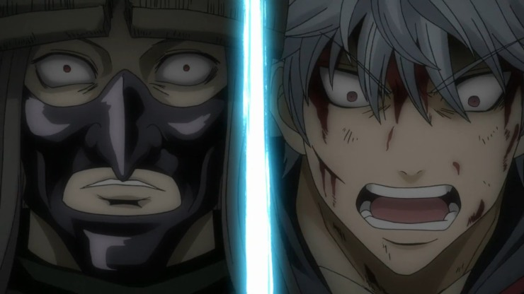 Gintoki's change and standing up against Utsuro